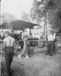 Eagle Lake Picnic Booth, July 1, 1942