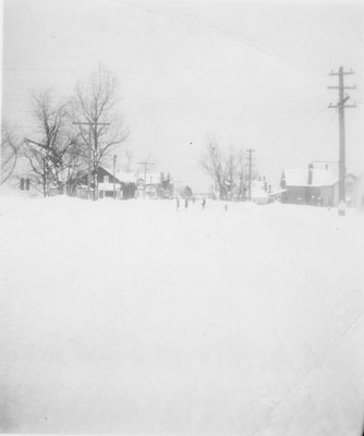 South River Street in Winter, March 1943