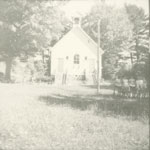 White Church or School building, circa 1930