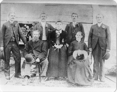 Haufschild Family, circa 1890