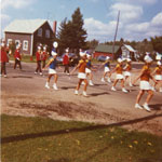 Sundridge Bugle Band, South River Agricultural Society Fall Fair Parade, circa 1984