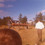 Sawing Competition Event, South River Agricultural Society Fall Fair, circa 1970