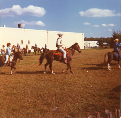 A Group of People Riding Horses, South River Agricultural Society Fall Fair, circa 1970