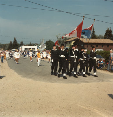 Sundridge Lions Bugle Band, South River Agricultural Society Fall Fair, 1984