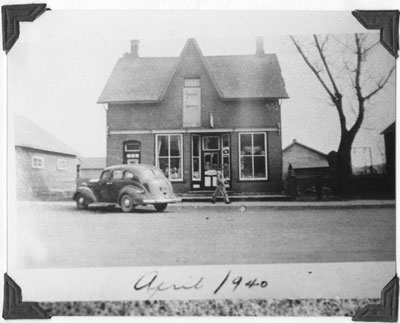 R. R. Wood General Store, South River, 1940