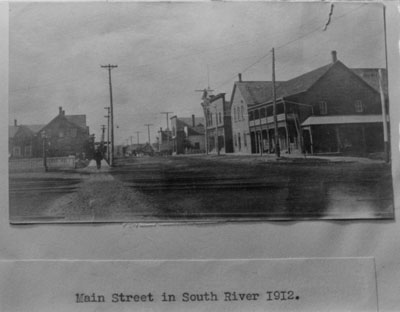 Main Street South River, 1912