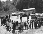 Timber Management Forester, A. Wynia, Thanks School Children From South River For Their Tree Planting Efforts, May 20, 1964