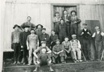 Group of Lumber Yard Workers, Standard Chemical Company, South River, circa 1920