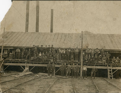 Group of Workers, South River Lumber Company, circa 1920