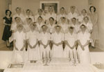 Nurses in the Anglican Parish Hall