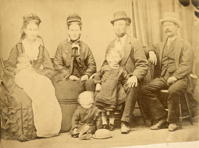 Unknown Family Portrait