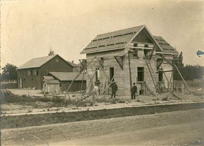 Building Under Construction, South River