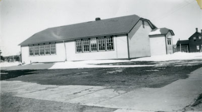 South River High School in Winter, 1948