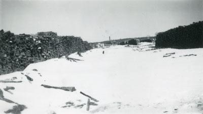Cord Wood Yard, South River