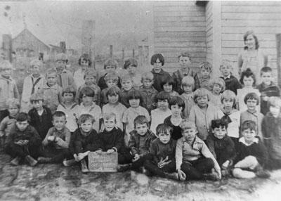 Miss Willis' South River Public School Class Photograph, 1929