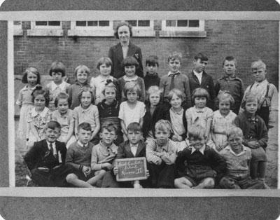 South River Public School Grade 2 Class Photograph, circa 1937