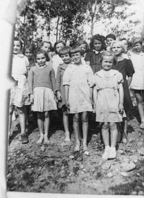 South River Public School Grade 2 - 3 Group Photograph, circa 1939