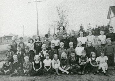 Mrs Caldwell's South River Public School Grade 3 Class, 1951