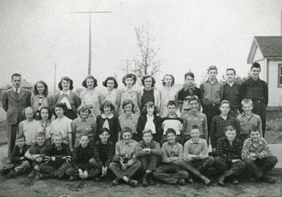 Mr. Cassey's South River Public School Grade 8 Class, 1952