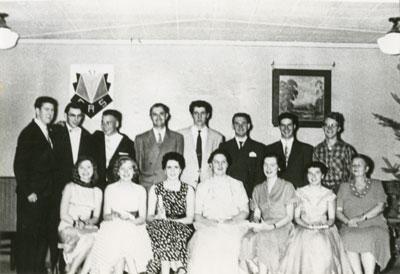 Last Grade 12 in Yellow School, South River, circa 1955