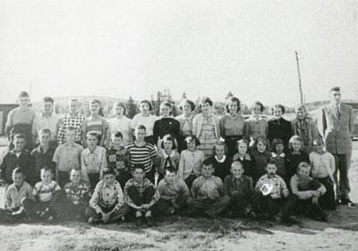 Mr. Bolger's South River Public School Grade 6 Class Photograph, 1955