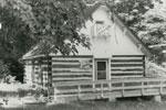 Former Schoolhouse, Lount Township, circa 1980