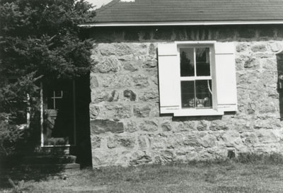 Former Schoolhouse, School Section #1, Machar Township, circa 1970.