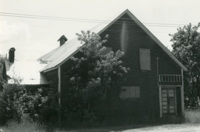 Orange Hall (Used as Schoolhouse at One Time), Machar Township, circa 1970