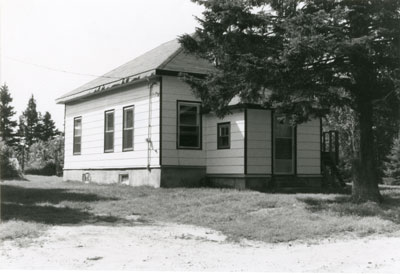 S. S. #4 Machar, Hamilton Lake School, circa 1970