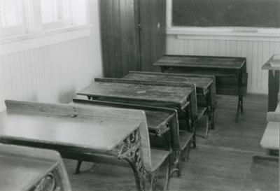 One Room School House, circa 1970