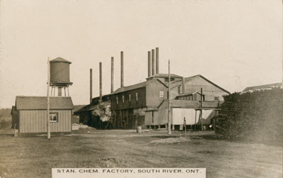 Postcard of Standard Chemical Factory, South River, circa 1920