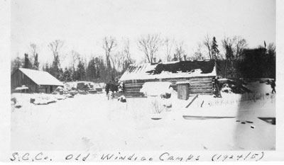 Standard Chemical Company's Old Windigo Camps, 1924