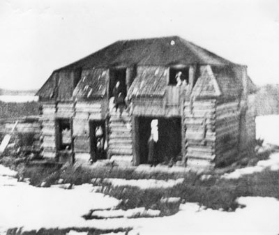 The Dilapidated Original Cole Homestead