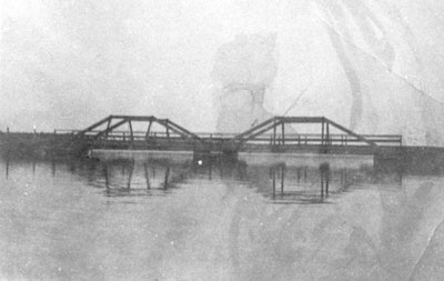 Narrows Bridge on Eagle Lake, circa 1920