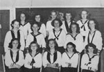 South River Canadian Girls in Training (C.G.I.T.) Group Picture, circa 1950