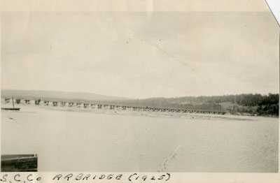 Standard Chemical Company Railroad Bridge, 1925
