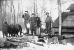 Erven Family Sugar Bush, circa 1920