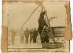 Hunters with Moose, circa 1910