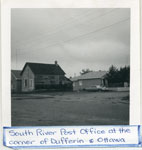 Old South River Post Office, Side View, circa 1960