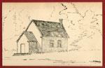 Sketch of Eagle Lake United Church, 1982
