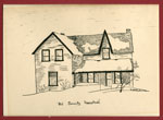 Sketching of Old Connelly Homestead, South River