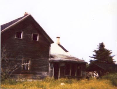 Abandoned Dahms Farm House