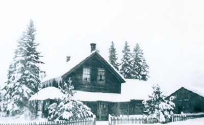 Brunner House in Winter