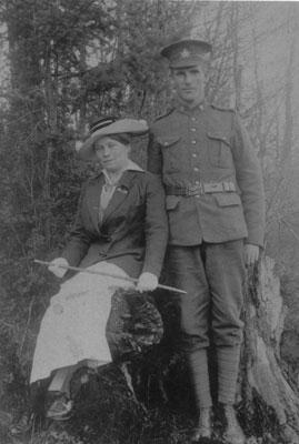 Cottrell Portrait in Forest, circa 1915