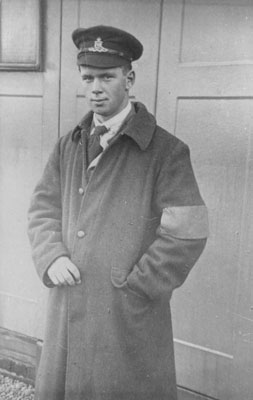 Melvin Anderson in Uniform, circa 1900