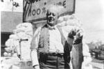 J. P. Johnstone with Fish, circa 1910