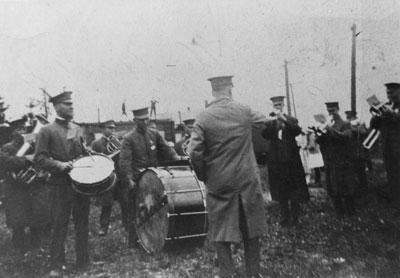 Military Band, circa 1915