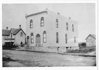 Orange Hall Sundridge Ontario, circa 1945