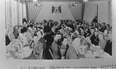 Charter Night, Sundridge Lions, May 19th, 1944