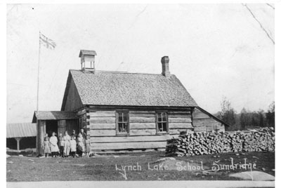 Lynch Lake School Sundridge, circa 1925